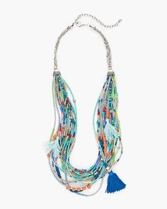 Chico's Zoey Multi-Strand Necklace