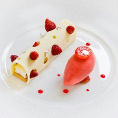 Dessert de la chef pâtissière Claire Heitzler, du restaurant Lasserre