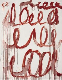 Cy Twombly Untitled 2006