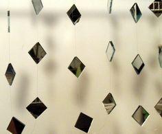 DIY mirror garland