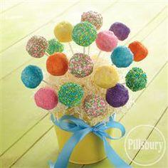 Summertime #CakePop Bouquet from Pillsbury® Baking