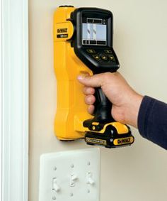 The future of home remodeling has arrived! Say goodbye to guessing what's behind the wall when working on your next renovation project. The DEWALT is a revolutionary cordless tool c. All Tools, Work Tools, Dewalt Power Tools, Dewalt Cordless Tools, Garage Atelier, Tool Shop, Home Workshop, Garage Tools, Professional Tools