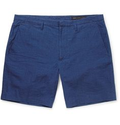 Marc by Marc JacobsRegular-Fit Cotton-Chambray Shorts