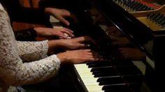W. A. Mozart, Sonata in C, K. 521 - Paula & Fabiana Chávez, piano 4 hands.