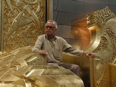 Because we all know that Stan Lee is the one true king of Asgard