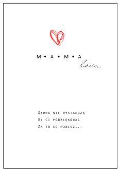 Do pobrania za darmo kartka na Dzień Matki // Simply Creative Life Journey.blog