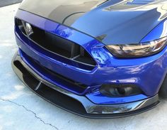 2015-2017 Ford Mustang Carbon Fiber Front Chin Splitter Anderson Composites components are carefully hand-crafted using only the finest materials. Anderson Composites production team offers superior craftsmanship with many years of experience working with carbon fiber.
