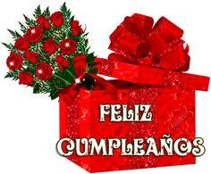 flower cards for birthdays Happy Birthday Cake Images, Happy Birthday Flower, Birthday Roses, Happy Birthday Messages, Birthday Gifs, Birthday Woman, Birthday Gifts For Women, Spanish Birthday Wishes, Flower Cards