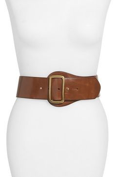 7770a1d61 Steven by Steve Madden Leather Belt available at #Nordstrom Wide Leather  Belt, Small Leather