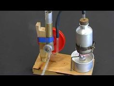 School Project Steam Engine / Dampfmaschine - YouTube