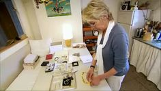 Cathy Chotard (FR) - Video of her creative space.  Website features photos of creative elements.