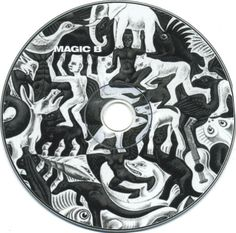 2004 Magic B - Magic B [Magic B] design: Прасковья Антипова; original artworks: M.C. Escher - Mosaic II (1957) #Disc Cover Art, Album Covers, Magic