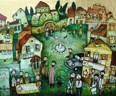 Художник Otar Imerlishvili. Грузия - радостный край