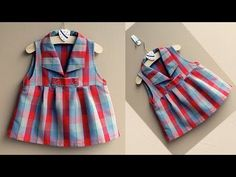 DIY Designer Baby Top Cutting And Stitching Full Tutorial - YouTube