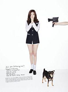 Han Hyo-Ju 한효주 OhBoy! 화보 Are you following me?