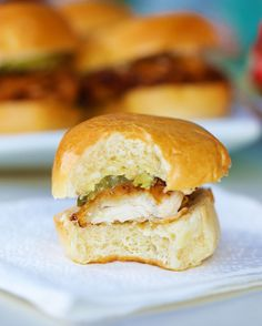 Buttermilk Fried Chicken Sliders | Buttermilk Fried Chicken Sliders