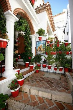 Courtyard in Andalucia, Spain