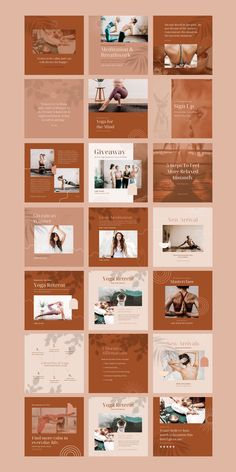 $25 · Bring harmony to your brand with the Yoga Social Feed Template, a divine set of 30 custom presets designed to give your social feeds a calming, earthy aesthetic. WHAT'S INCLUDED:30 square (1080 x 1080px) Social Feed Canva Templates | Free stock Images already edited with Cultive Presets | Step by step installation instructions | Customer Support from our team Instagram Feed, Instagram Posts, Instagram Post Template, Installation Instructions, Templates Free, Customer Support, Calming, Earthy, Yoga