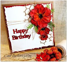 Today I have some cards that I made for the monthly card classes that I teach at my LSS. Poppy Cards, Sue Wilson, Remembrance Day, Some Cards, Heartfelt Creations, Happy Birthday Cards, Flower Cards, Cardmaking, Poppies