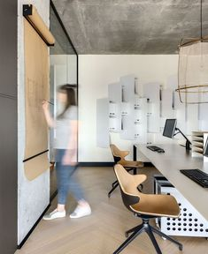 Design Studio Materia 174 Office Space - InteriorZine #officedesign