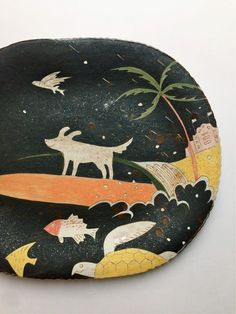 Makoto Kagoshimas Ceramic Plates.