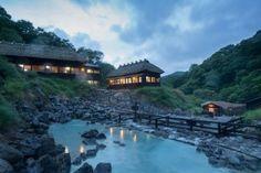 Kuroyu onsen in north