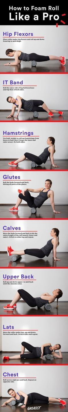 Want to improve flexibility, performance, and reduce injuries? Get to know the foam roller. #fitness #running
