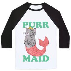 Purr Maid Baseball Tee | Look Human