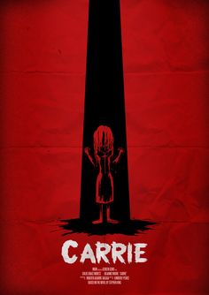 """""""Carrie"""" poster by Allmightysteve  #Movie #Poster"""