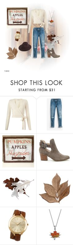 """""""Fall outfit"""" by katsevilla on Polyvore featuring moda, Miss Selfridge, White House Black Market, WALL, Sole Society, Bliss Studio, Michael Kors y Silver Luxuries"""