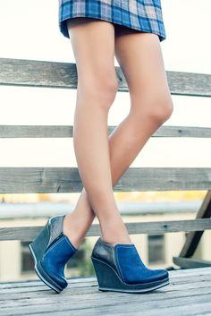 Shoe Embassy Mon-A-Lisa - Midnight blue #shoeembassy #heels #platforms #monalisa #midnightblue #blue