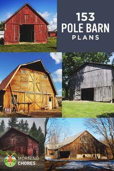 153 Free Pole Barn Plans