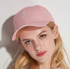 Finger embroidered baseball cap for women hip hop sun hat UV protection