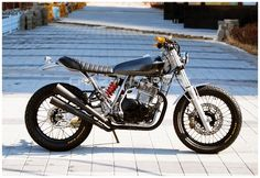 Honda XR 600R by Crazy Garage