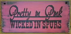 Western Rustic Cowgirl Pretty In Pink Wicked by theprimitivebarn1,