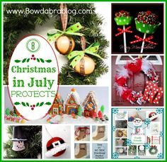 Bowdabra Blog Christmas in july Projects