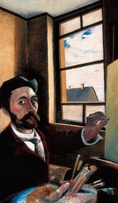 Csontváry - Csontváry a székelyeknél II. Looking Out The Window, Art For Art Sake, Mona Lisa, Marvel, Artwork, Paintings, Artists, Heart, Modern