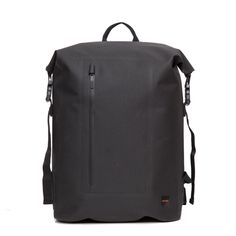 """Cromwell Men's 14"""" Roll Top Backpack - Black 