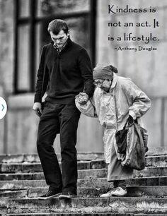 Kindness // gentileza é um estilo de vida.