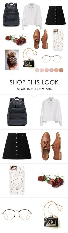 """come down"" by amberwaves2000 ❤ liked on Polyvore featuring Marc Jacobs, Y's by Yohji Yamamoto, Miss Selfridge, Gap, Casetify, Linda Farrow and Deborah Lippmann"