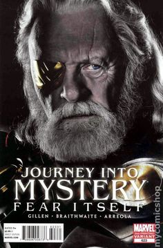 Journey into Mystery (2011 3rd Series) 623C Marvel Comics Modern Age Comic book covers Super Heroes Villians Sir Anthony Hopkins Oden Avengers movie