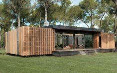 De Popup House, een energieneutraal huis, is goedkoop, duurzaam en heel snel te bouwen, want je kunt het huis uit elkaar halen en geheel hergebruiken.