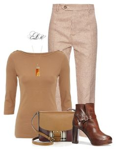 Work Casual by tmlstyle on Polyvore featuring Burberry and Helix & Felix