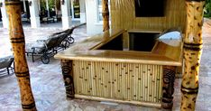 Find best value and selection for your bamboo tiki hut bar search on eBay. World's leading marketplace. THB-6, 6' tiki hut bar with grass th...