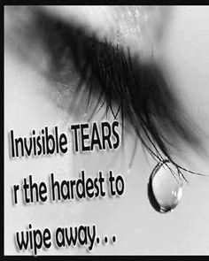 Tear are the hardest