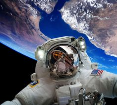 Astronaut Epic Selfie