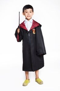 Harry Porter Gryffindor Cosplay Costume for Kids Halloween Party Wear