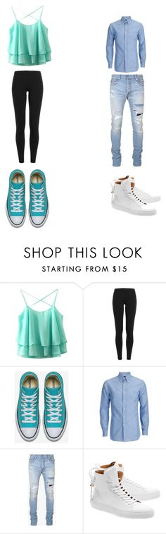 """""""Day with BAEEEEE"""" by kassidyrobinson on Polyvore featuring Polo Ralph Lauren, Balmain and BUSCEMI"""