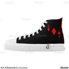 Ace of Diamonds Printed Shoes