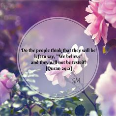 Allah tests you Allah Quotes, Muslim Quotes, Quran Quotes, Islamic Quotes, Quran Sayings, Islamic Dua, Hindi Quotes, Qoutes, Noble Quran